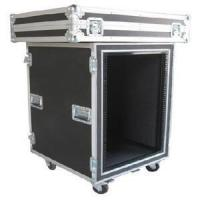 Buy 12U Anti-shock Rack Flight Case for Placing Amplifier Equipment at wholesale prices