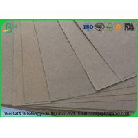 Quality 80gsm 120gsm 150gsm Test Liner Paper , Brown Corrugated Paper For Carton Box for sale