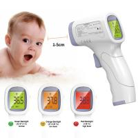 Quality Medical Grade Non Contact Infrared Thermometer With Data Retention Function for sale