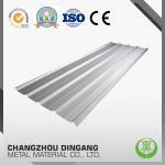 Corrosion Resistance Galvalume Corrugated Roofing Sheets , Color Coated Galvalume Roofing Sheet