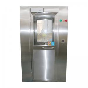 Quality Fully automatic air shower room with Face recognition + temperature detection system for sale