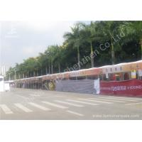 China 100 Percent Utilization Anodized Aluminum Frame Tents , Clear Span Fabric Structures on sale
