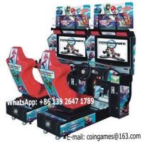 Buy 2016 New Amusement Park Equipment Arcade Coin Operated Mario Simulator Video Driving Play Car Racing Games Machine at wholesale prices