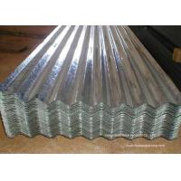 Buy Waved Galvanized Steel Sheet Plates For Roofing , Walls , Ceiling at wholesale prices