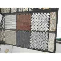 China various kinds of mosaic using Marble or Onyx travertine stone products customization deign CAD drawing on sale