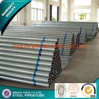 Quality BS 1387 ASTM A53 Structural Steel Pipe Schedule 40 STK500 STK400 for sale