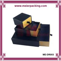 Quality Custom design earring boxes paper drawer box paper packing ME-DR003 for sale