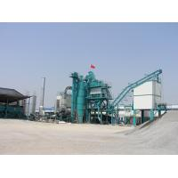 Buy 3.25m Discharging Height 80tph Asphalt Drum Mixing Plant With Secondary Weighing Mode at wholesale prices
