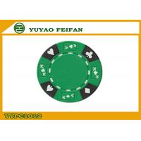 Quality Professional Composite 13.5 Gram Numbered Poker Chips With Custom Printed for sale