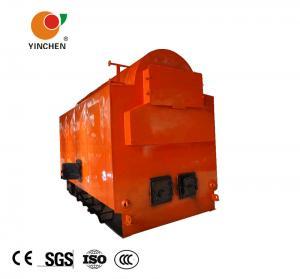 Quality Industrial Biomass Fired Steam Boiler 6 Ton 8 Ton 10 Ton Conveyor Feeding Mode for sale