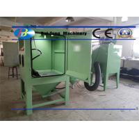 Buy Electricity Source 220V 50Hz Industrial Sandblast Cabinet For Sandblasting Molds at wholesale prices