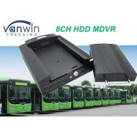 Quality 4G GPS Wifi 8ch vehicle DVR / NVR for Taxi School Bus Car Truck solution for sale