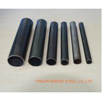 Quality SCH30 , SCH40 ERW Steel Pipe For Oil , Water Delivery Pipe Electronic Resistance Welded for sale