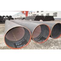 Quality Hydraulic Fluid Round ERW Welded Tube , SCH X52 Welded Steel Pipe 6.35 ~ 50mm for sale