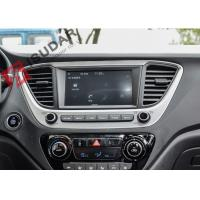 Quality Built In Wifi Pure Android Auto Car Stereo Car Head Unit For Hyundai Solaris Verna 2017 for sale