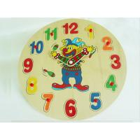Quality Wooden Puzzle Toy /Wooden Puzzle Clock / Wooden Clock for sale
