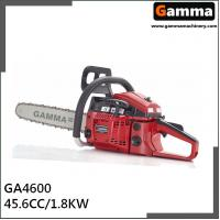 Buy cheap chainsaw 4600, gasonline chain saw, Oregan guide bar, 45.6cc displacement from wholesalers