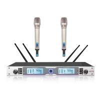 Buy RHOS /  UL 2 Channel Wireless Microphone System For Meetings SR-6800 at wholesale prices
