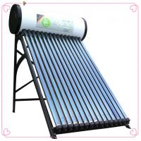 China 2013 hot sales black outer look color steel  compact pressurized solar water heater system on sale