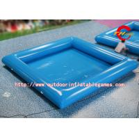 Quality Commercial Blue Inflatable Swimming Pool / Inflatable PVC Water Pool For Kids for sale