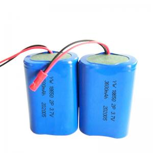 Quality 3600mAh 13.32Wh 3.7 V 18650 Lithium Ion Battery for sale