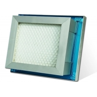 Quality Gel Seal Mini Pleated Air Purifier HEPA Air Filter For Pharmaceutical Industry for sale