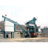 Quality 32T Hot Aggregate Bin Timken Bearing Asphalt Drum Mixer Plant , Fixed Bitumen Processing Plant for sale