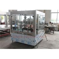 Quality Single Juice Bottle Filling Capping And Labeling Machine Piston Type for sale