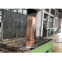 Quality 120mmx120mm square billet TP2 material Cr coating mould copper tube for sale
