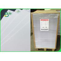 Quality Single Coated Ivory Board Paper / Ivory Printing Paper C1S SBS Paperboard for sale