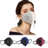 Quality Vertical Fold Flat Foldable FFP2 Mask Personal Protective FFP2 Respirator Mask for sale