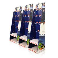 Buy Christmas Gifts Cardboard Floor Display with hooks,Litho-graphic Printed Cardboard Retail Display Stands at wholesale prices