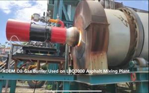 Quality XDEM ZOB Oil Gas Dual Fuel Burner for Metal Smelting Drying Kiln / Heat Treatment / Steamer/Asphalt Plant for sale