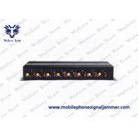 China 3G / 4G Wireless Signal Jammer Device Multiple Bands With Portable Aluminum Box on sale