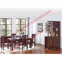 Quality Rectangular Table made by Solid Wooden in Dining Room Set for sale