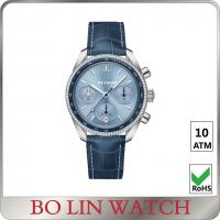 Quality Customizable classic chronograph watches solid 316 stainless steel Material for sale