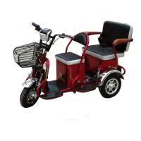 China two people use three wheels mobility electric vehicle for disabled and handicapped  electric bicycle on sale