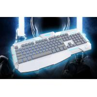Quality ASHURA STORMRAG Membrane Gaming Keyboard , ergonomic keyboard backlit with 104keys for sale
