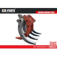 Quality excavator wood grapple attachments rotary grapple bucket for excavator grab bucket thumb bucket for sale