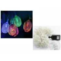 Quality Xmas LED String Lights Fairy Lamps 110 Voltage White / Warm White 6 Meters for sale