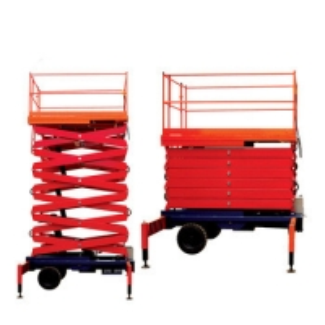 China Cheap 5 ton 3-18m ladder lift trailing hydraulic scissor lift elevator platform on sale
