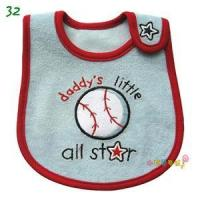 Quality Embroidery Cotton Baby Bib for sale