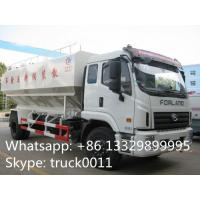 Quality China brand foton 10tons-15tons bulk feed discharge truck for sales, livestock farm-oriented animal feed delivery truck for sale