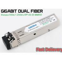 Quality 1.25G 850nm Fp 550m Lc Mmf Small Form Factor Pluggable Transceiver Fcc Compliant Sfp for sale