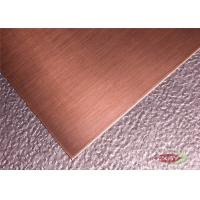 Buy Building Construction Copper sheet Metal Stock Customized Size at wholesale prices
