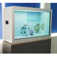 Quality Capacitor Touch 55 Inch Transparent Showcase , ROHS LCD Transparent Display for sale