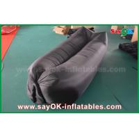 Buy cheap Light Black Customized Sleeping Inflatable Air Bags For Beach Nylon Cloth from wholesalers