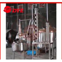 Quality 200L Common Whiskey Home / Commercial Distilling Equipment Customized for sale