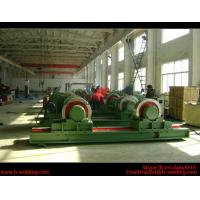 Quality 5 Ton Bolt Adjustable Steel Tank Welding Pipe Roller Rotator , Cylinder  Turning Roll Machine for sale