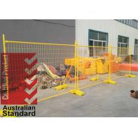 Quality AS4687-2007 Temporary Fencing Panels OD 32mm x 1.40mm mesh 60mm*150mm*3.00mm for sale